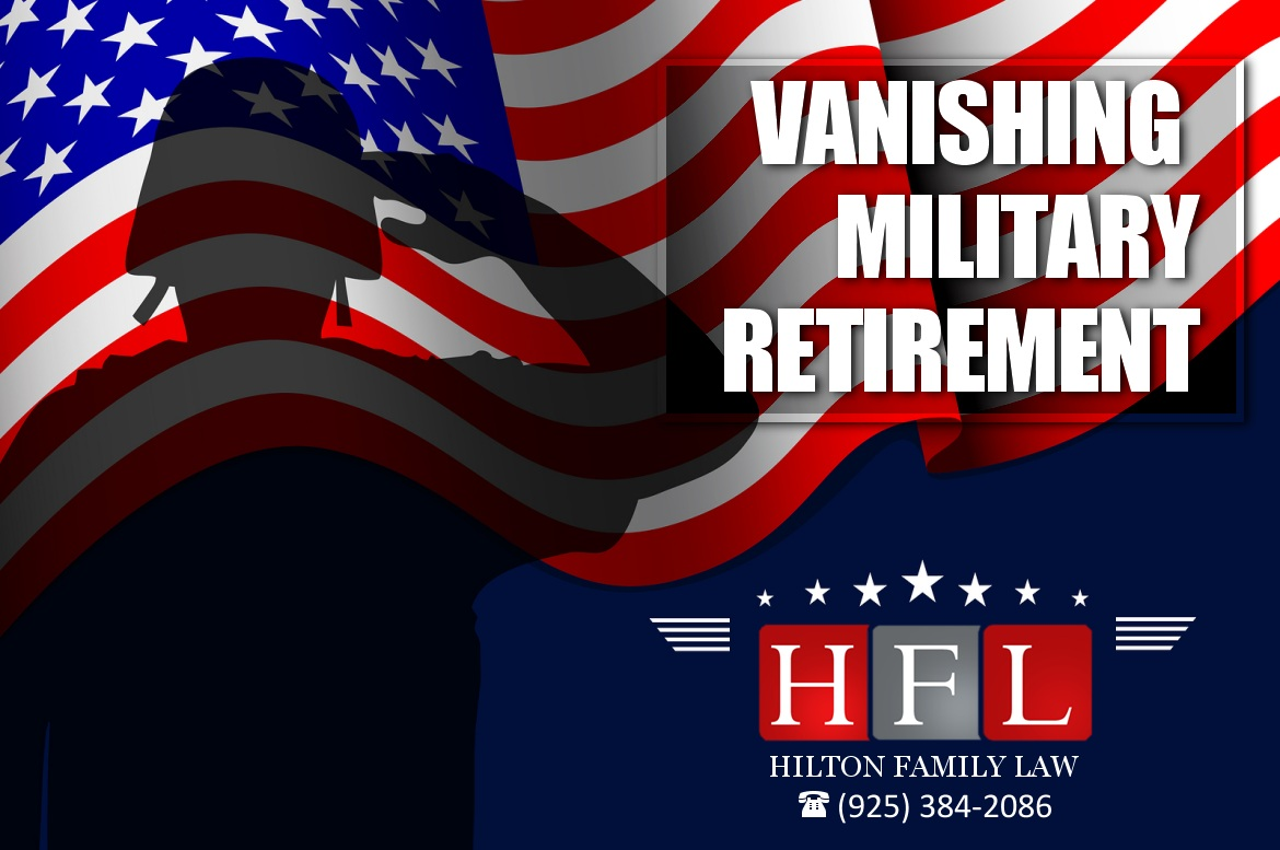 Vanishing Military Retirement
